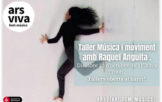 Música i moviment amb Raquel Anguita