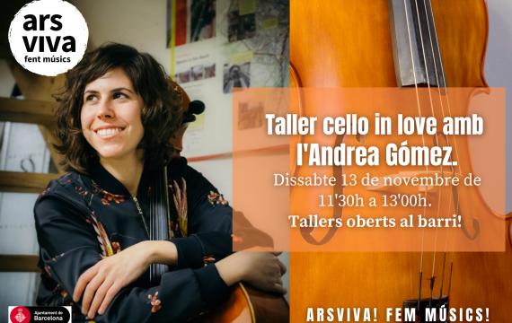 Taller Cello in Love amb Andrea Gómez